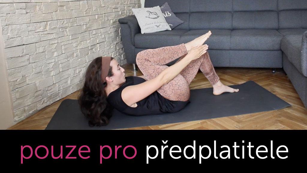 Pilates na břicho, nohy a záda