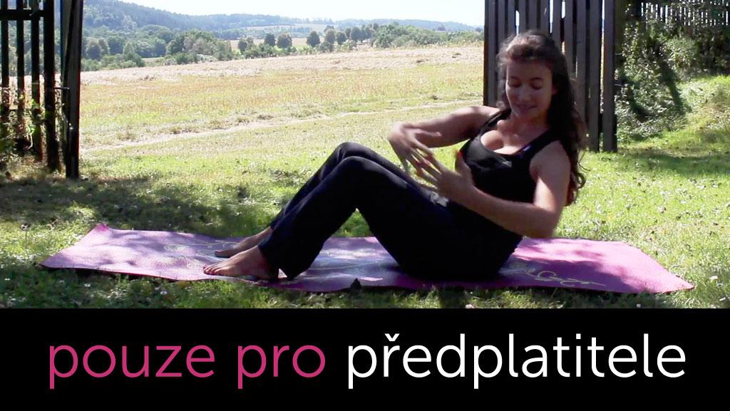 Pilates na celé břicho