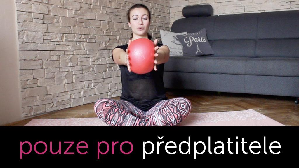 Pilates na celé tělo s overballem