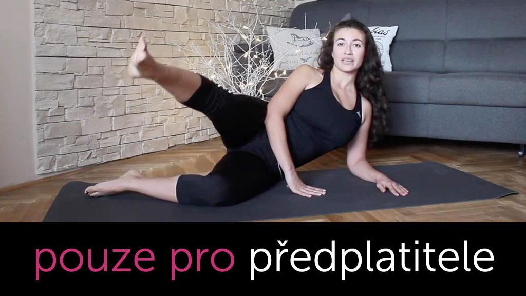 Pilates pro krásné nohy